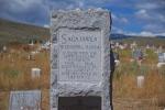 Sacajawea's Grave Stone