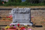 The GRave Stone of Shoshone Chief Washakie